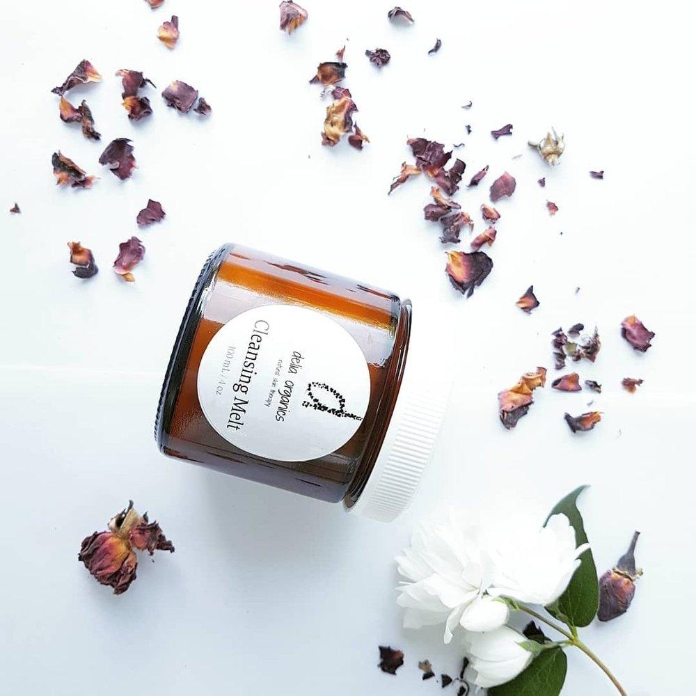 Cleansing Melt With Cherry Kernel Oil & Vanilla - DELIA ORGANICS18.99CDN