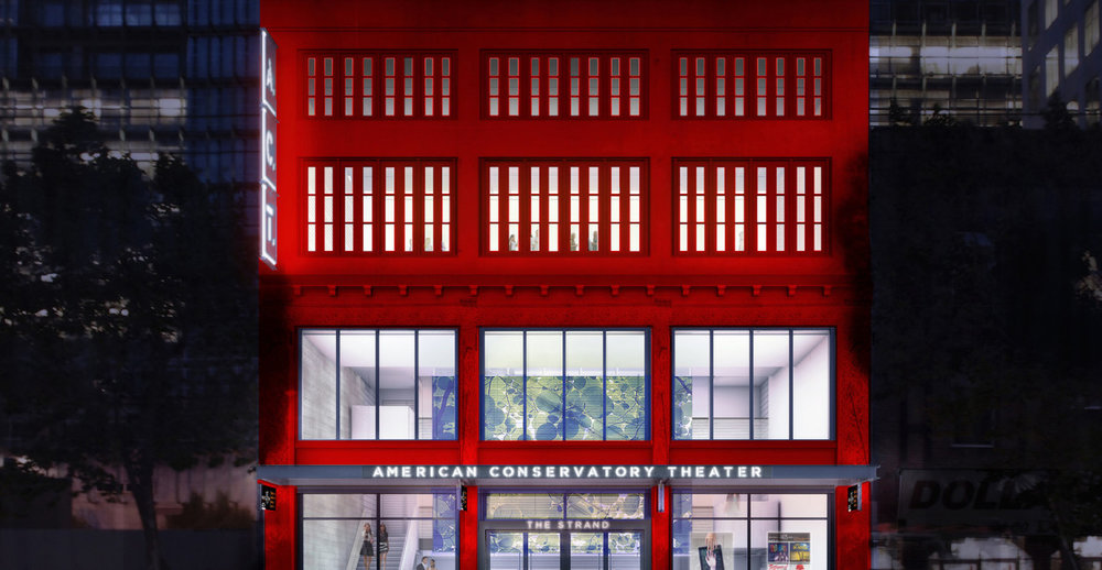 American Conservatory Theater - ACT's new performance space the Strand Theater