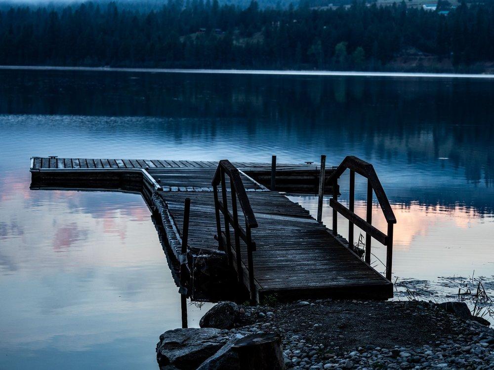 Curlew Lake dock