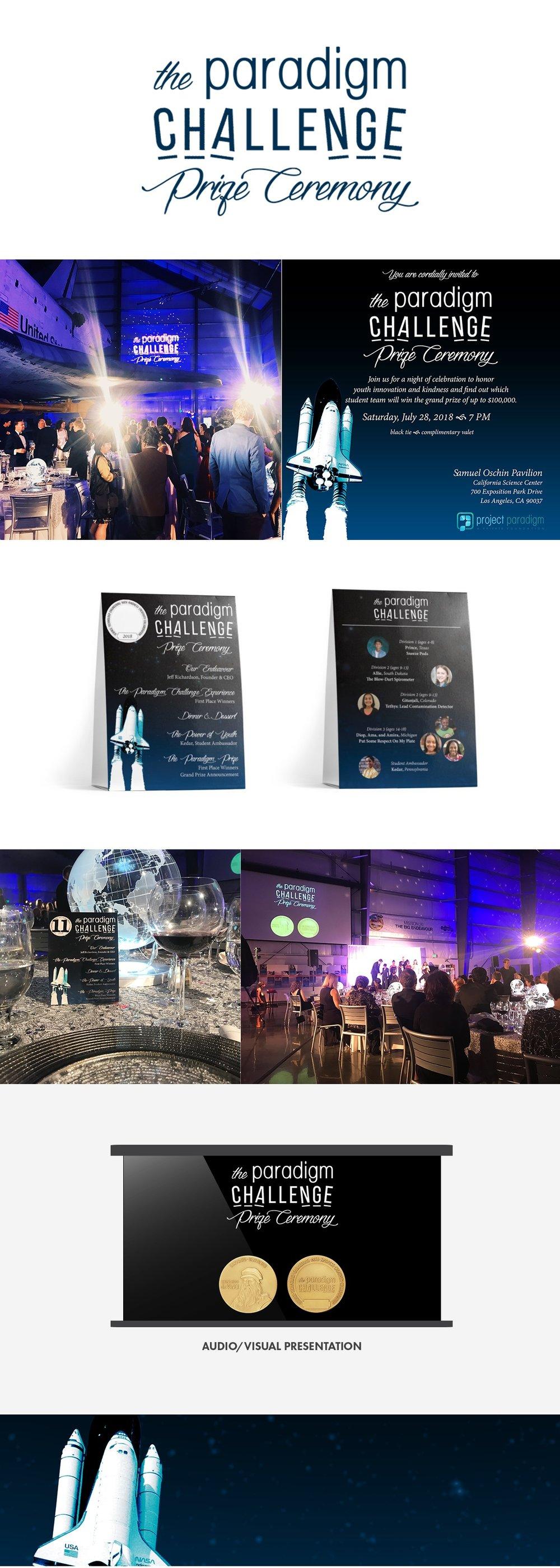Mandalu Event Branding-Paradigm Challenge Ceremony