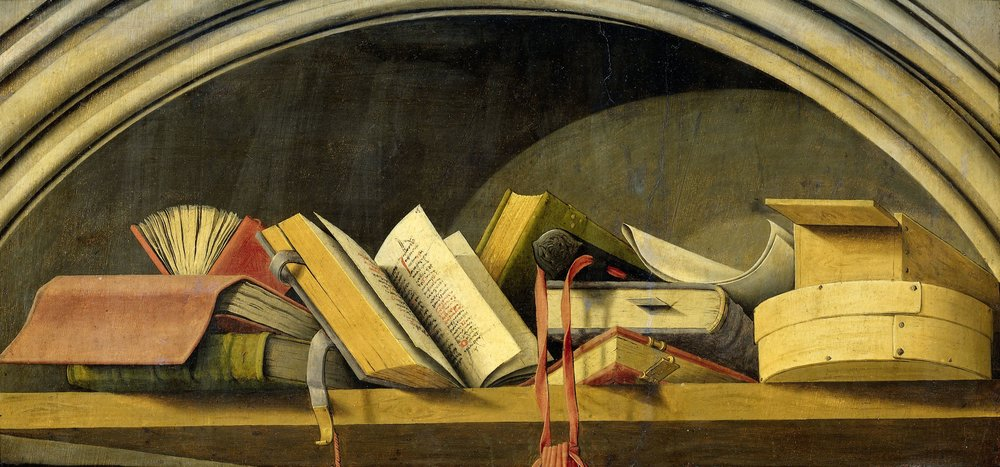 Still Life with Books in a Niche, Barthélémy d'Eyck.jpg