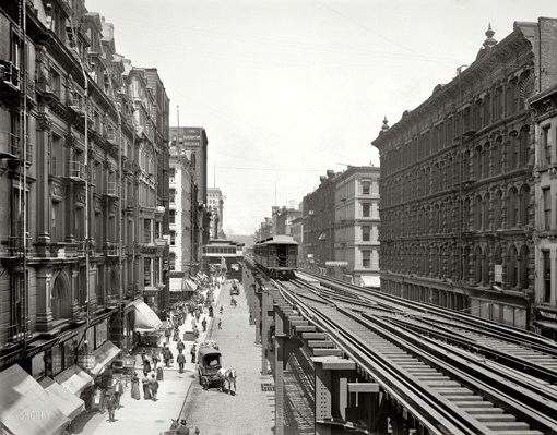 Chicago, Wabash, 1900