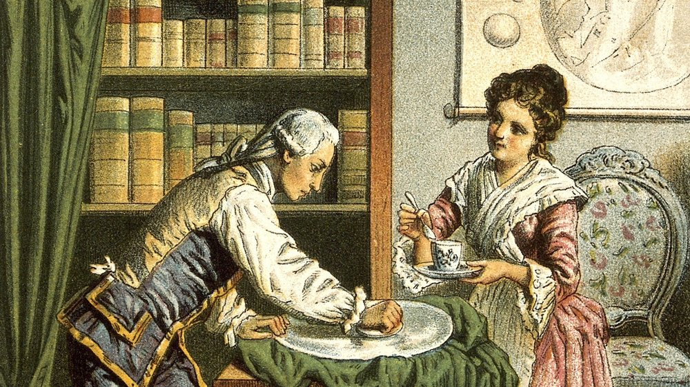 William and Caroline Herschel, though I suspect mirror grinding and tea drinking really don't mix