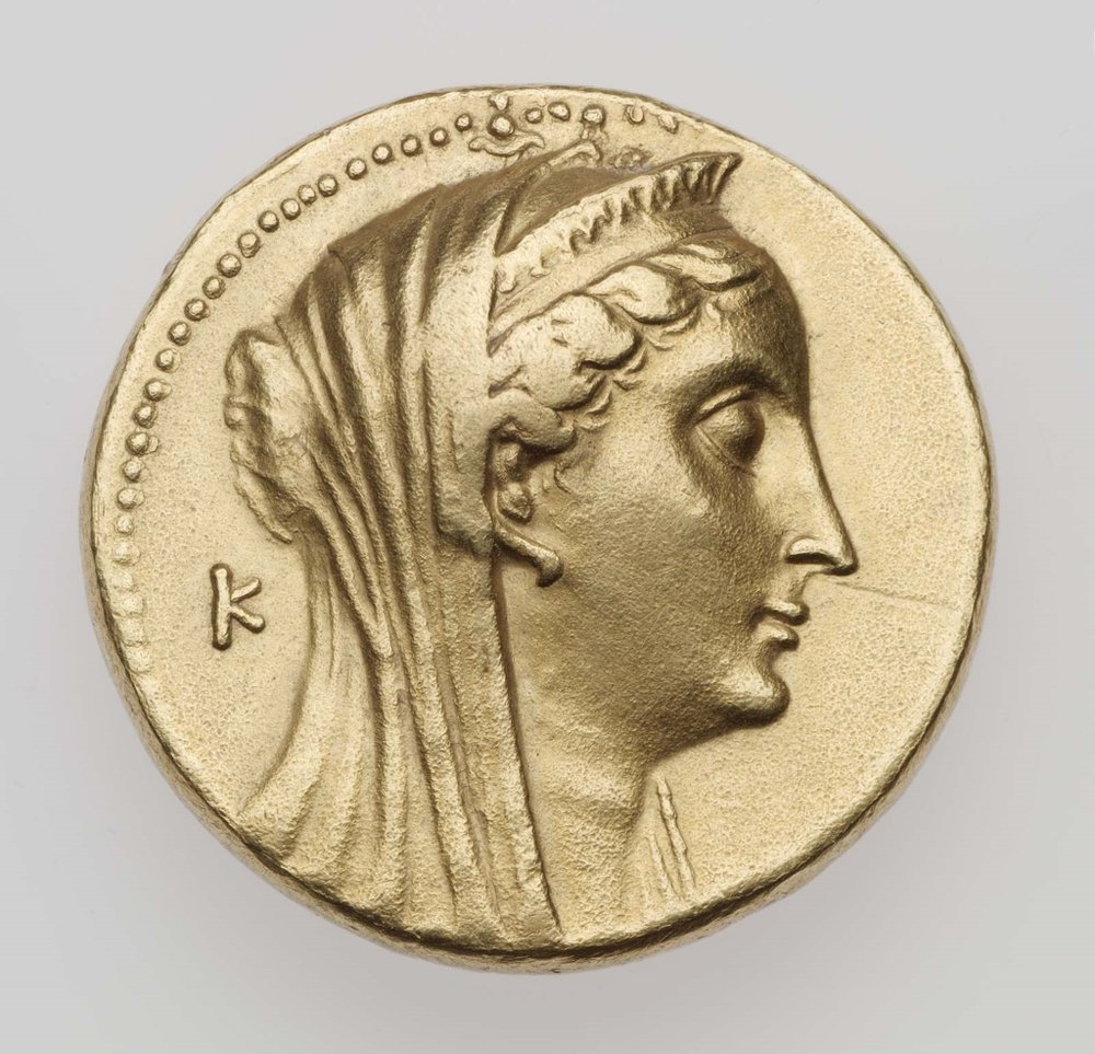 The Hellenistic kingdoms really had great portrait coins, because they knew self-presentation too