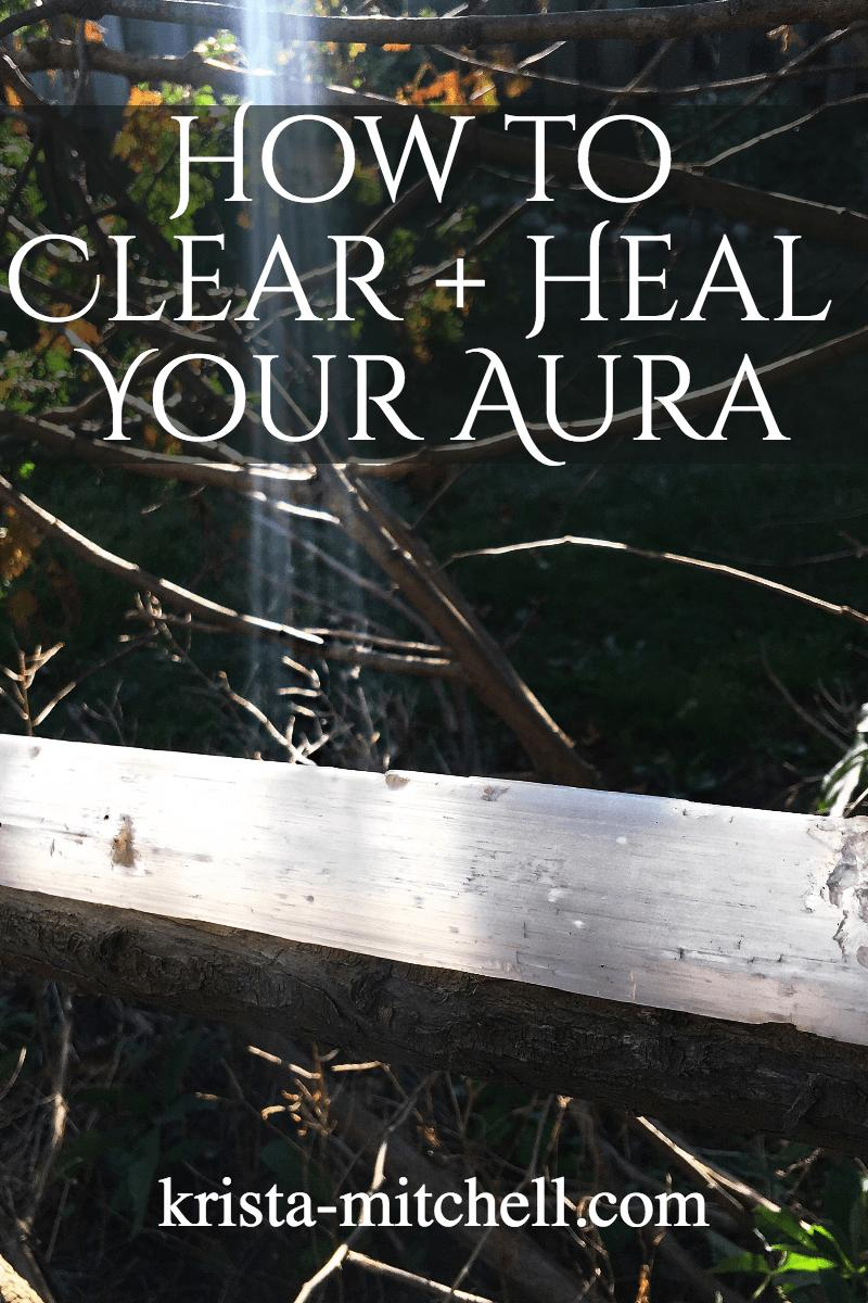 how to clear heal aura / krista-mitchell.com