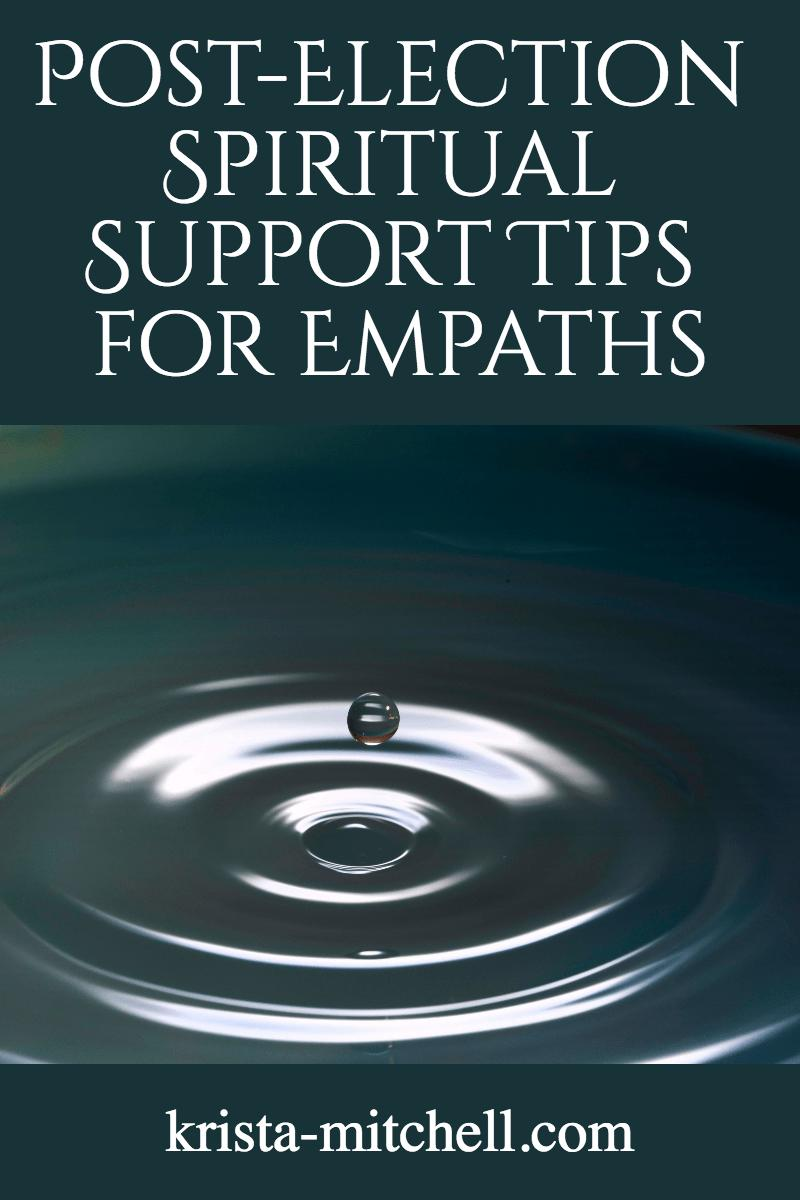 spiritual support for empaths / krista-mitchell.com