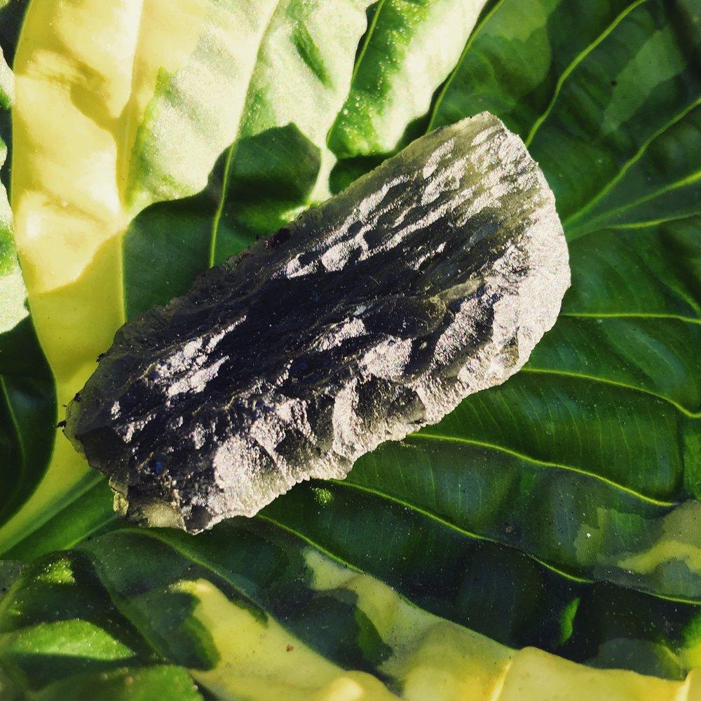 moldavite / krista-mitchell.com
