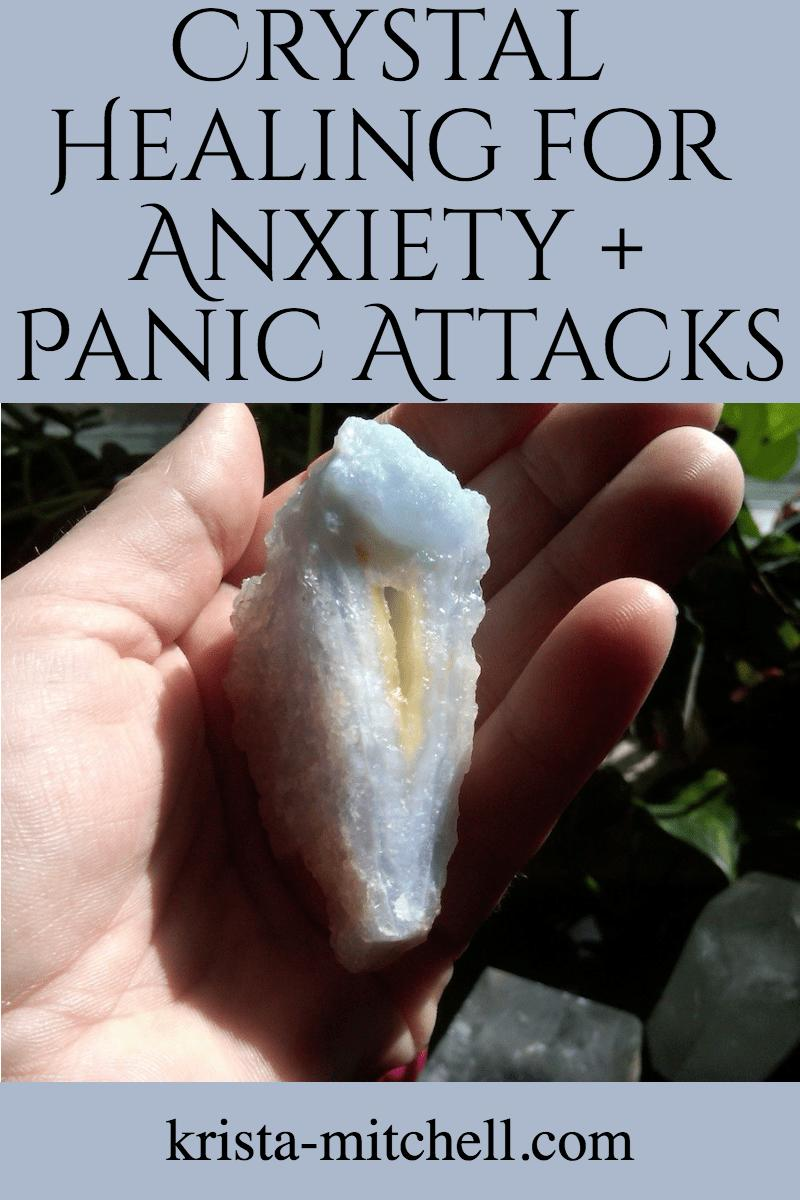 Crystals for anxiety and panic attacks / krista-mitchell.com