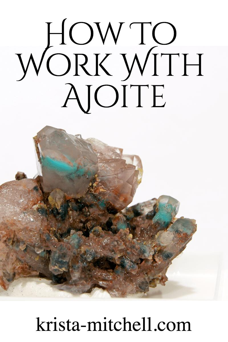 how to work with ajoite / krista-mitchell.com