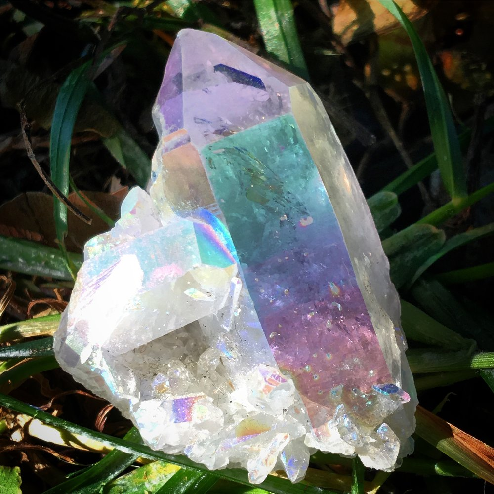 angel aura quartz / krista-mitchell.com