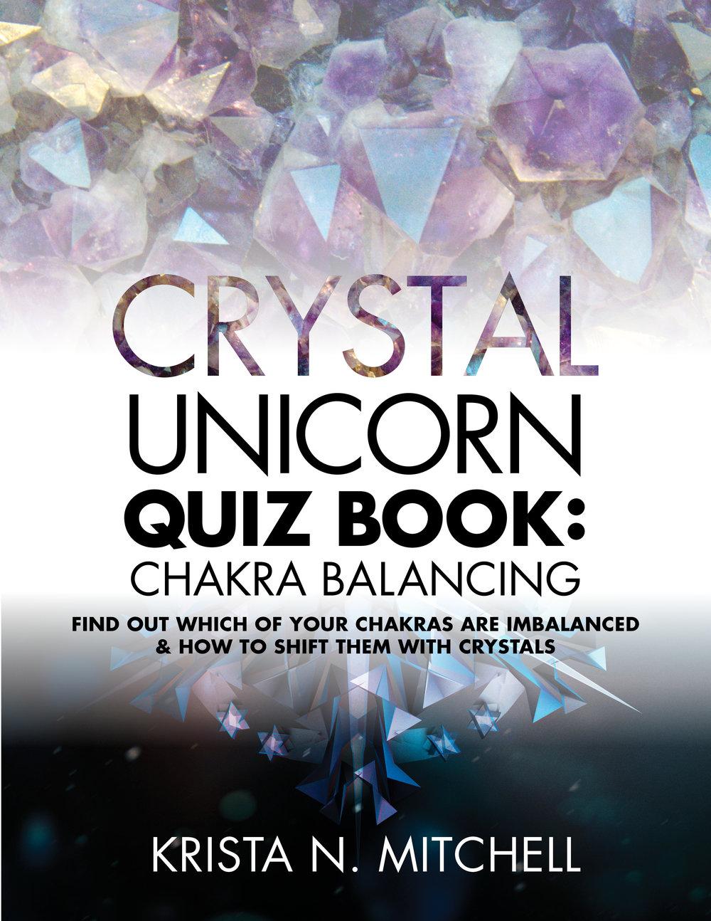 Crystal Unicorn Quiz Book / krista-mitchell.com