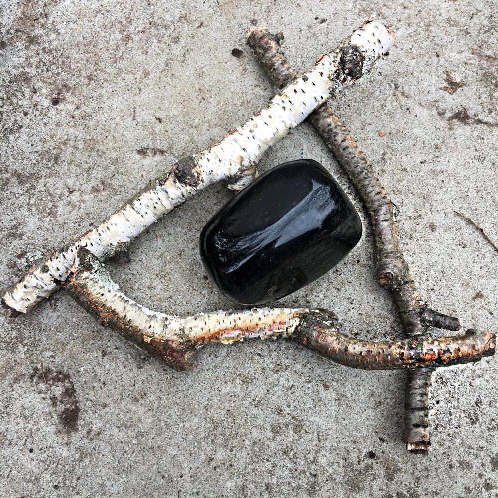 black obsidian / krista-mitchell.com