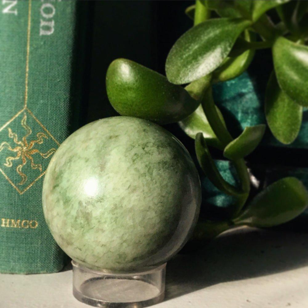 jade sphere / krista-mitchell.com