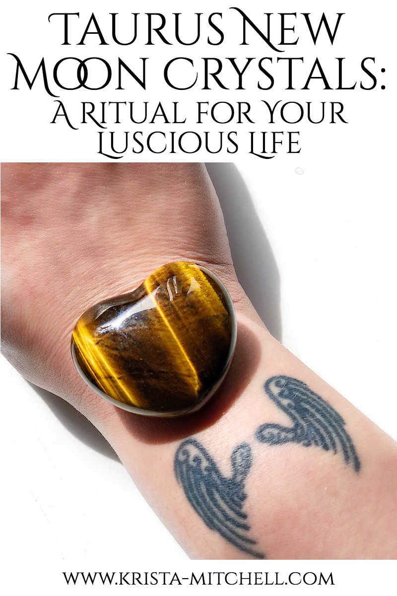 Taurus New Moon Crystals: A Ritual for Your Luscious Life