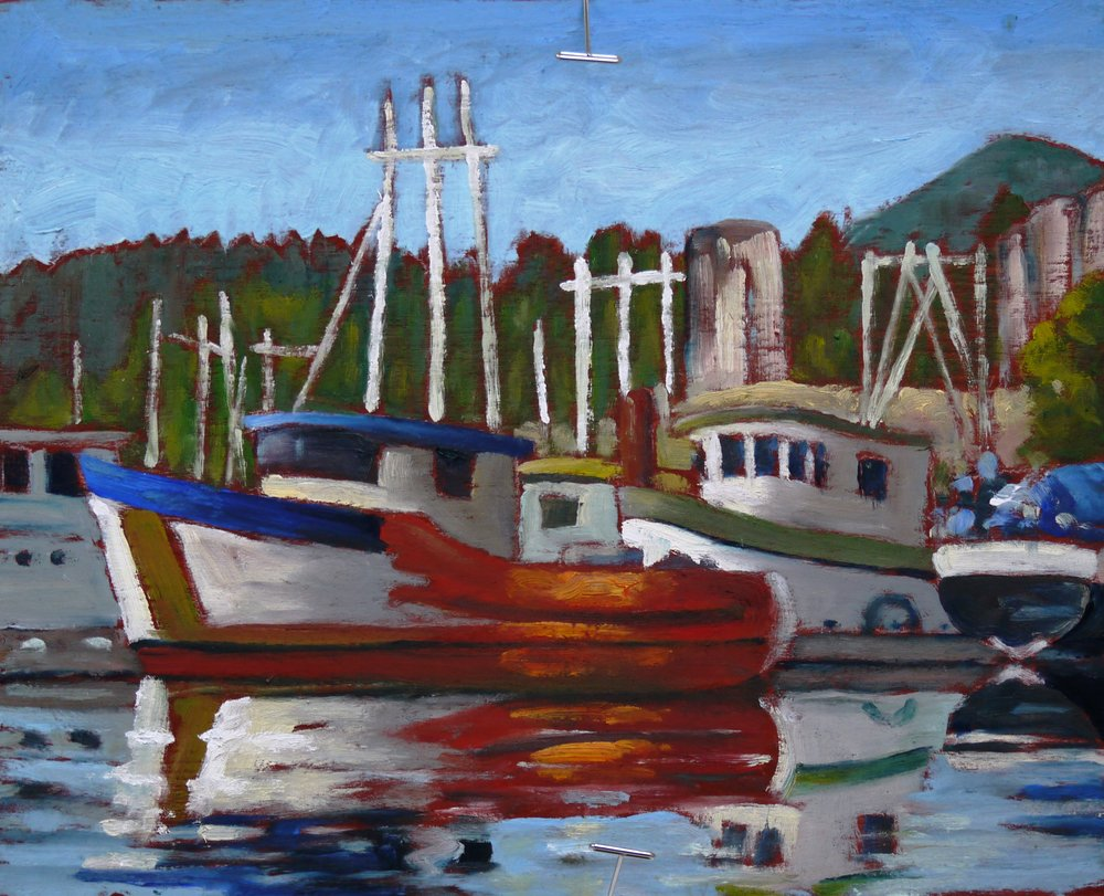 Powell River Work Boats
