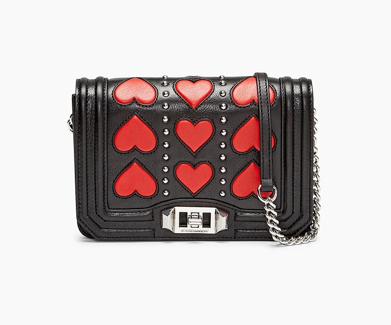 Rebecca Minkoff Heart Small Love Crossbody - Rebecca Minkoff Heart Small Love Crossbody is normally $195.00 on sale right now for $131.00