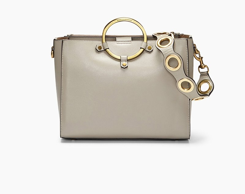 Rebecca Minkoff Ring Satchel - The Rebecca Minkoff Ring Satchel is normally $345.00 on sale right now for $231.00