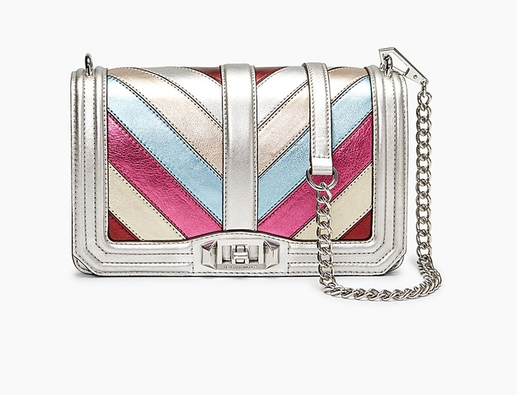 Rebecca Minkoff Patchwork Love Crossbody - The Rebecca Minkoff Patchwork Love Crossbody is normally $295.00 on sale for $148.00