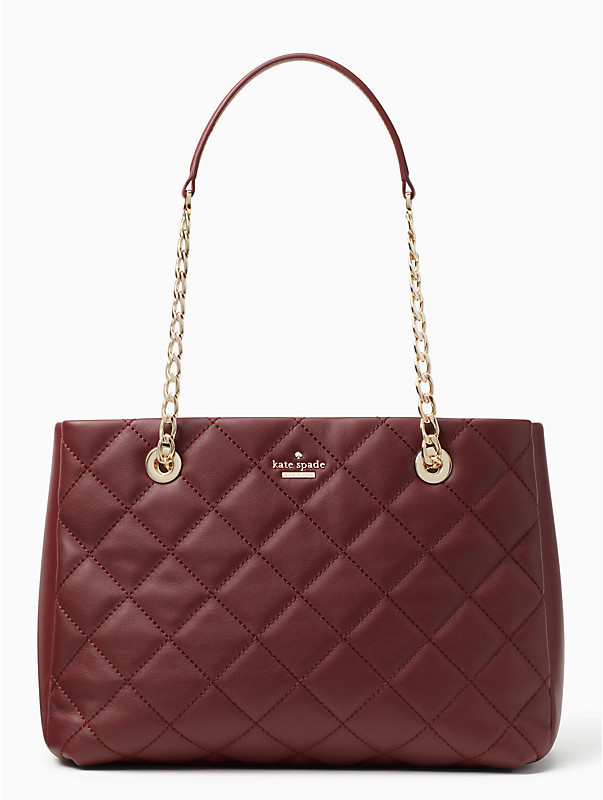 Kate Spade New York Emerson  - The Kate Spade New York Emerson place Allis is currently availble in Cherry Wood. Normally this bag is $448.00 on sale right now for $314.00