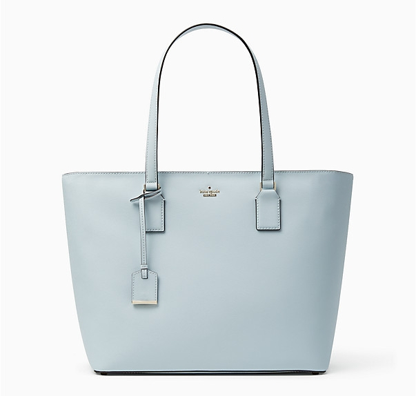 Kate Spade New York Cameron  - The Kate Spade New York Cameron street medium harmony is available in 1 color Shimmer blue. Normally $298.00 on sale for $209.00