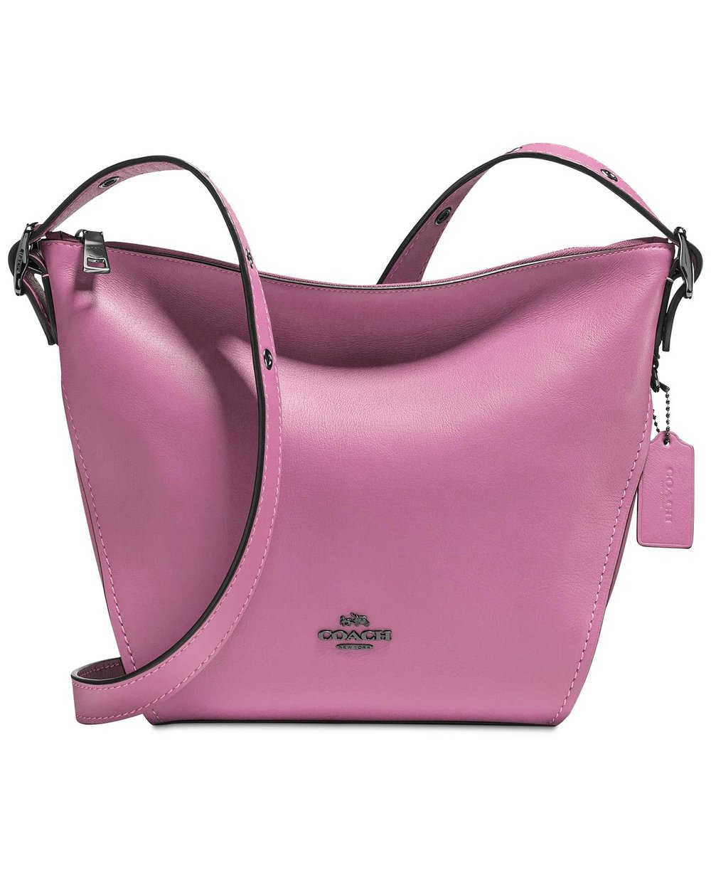 COACH Small Crossbody Dufflette - This COACH Small Crossbody Dufflette is avaialble in 10 colors. 4 of those colors are on sale right now. Normally $250.00 on sale now for $150.00