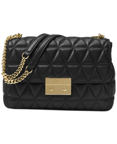 Michael Kors Sloan - This Michael Kors Sloan Extra-Large Chain Shoulder Bag is normally $358.00 and is now on sale for $214.80
