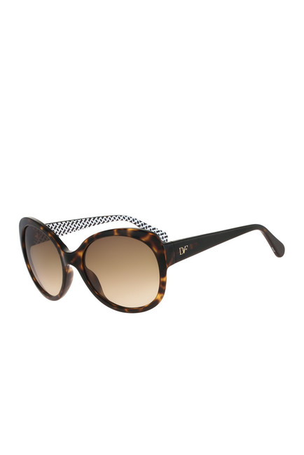 Diane von Furstenberg Lila Sunglasses - These Diane von Furstenberg Women's Lila Butterfly Sunglasses are normally $126.00 are on sale now $39.97