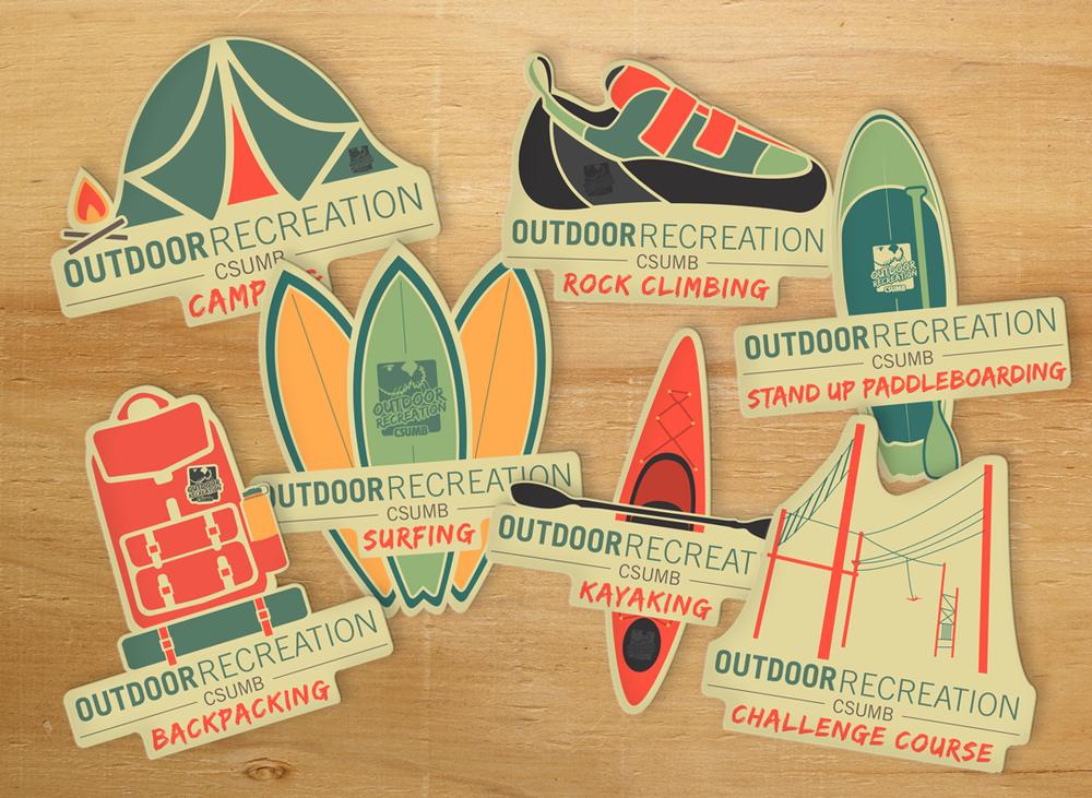 CSUMB Outdoor Recreation Rebranding -