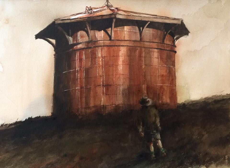 Water-tower-water-colour-painting-by-Frano.jpg