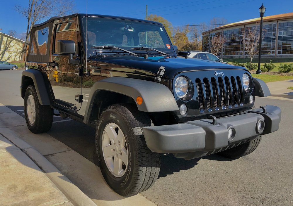 Jeep Wrangler Detailed