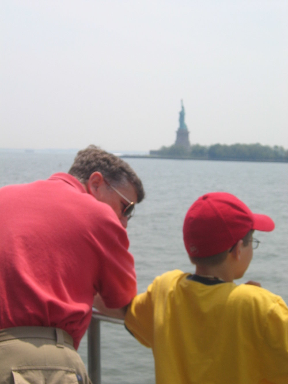 funny that i ended up back in the big apple photo: 2005