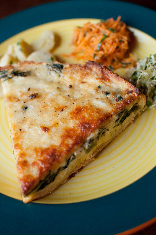 Quiches, Tartes& Sandwiches - Vegetarian Quiches, Tarts and sandwiches
