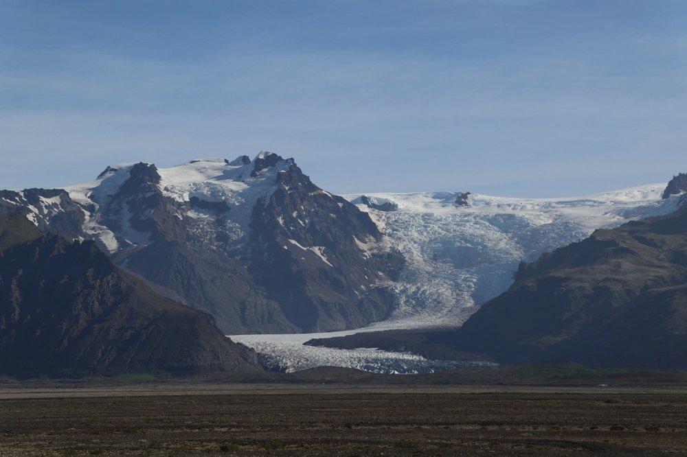 Glacier, Iceland. Photo by Thomas Kear.