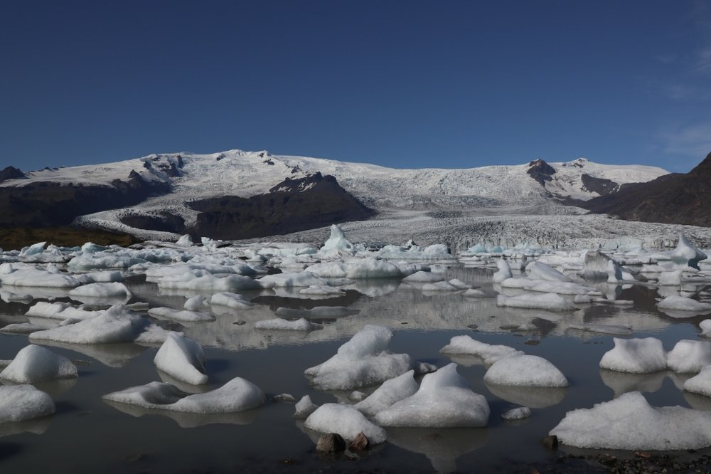 Iceberg lagoon, Iceland. Photo by Tamara Buckland.
