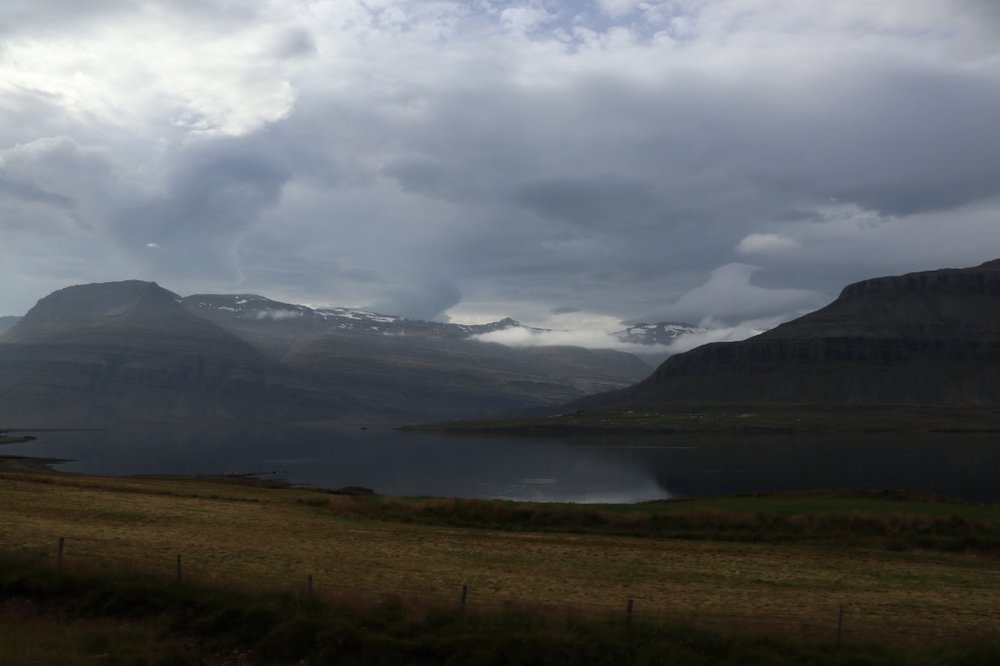 View from our coastal drive, Iceland. Photo by Tamara Buckland