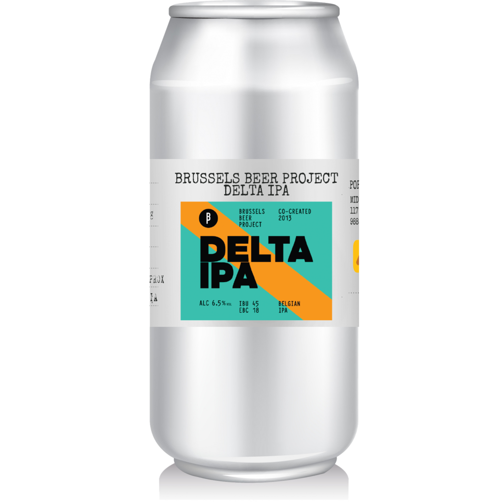 Brussels Brewing Project - Delta IPA   BBP's first beer, elected by more than 850 Brussels' locals in the summer of 2013, beating 3 competeting prototypes (Alpha, Beta and Gamma). The Delta takes you on a tropical journey through Brussel with its notes of lychee, passion fruit before it strikes you with its refreshing bitterness and indefinite thirst-quenching ability.