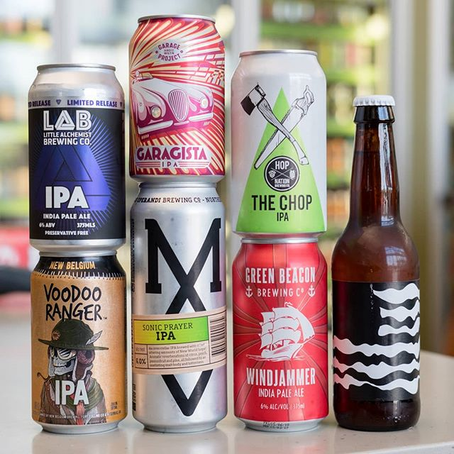 It's IPA Day! Australia is not short of their IPA's, or their love for them. We've got a great range at the moment from both Australian and international breweries.  Any excuse for fresh beer is a good one, so make sure you celebrate the day with nice cold one!  #portersliquorryde #midwaycellars #craftbeer #drinkcraft #untappd #drinkcraft #instabeer #beer #portersliquor #sydneycraftbeer #beergeek #beernerd #IPAday #IPA #IndianPaleAle #LittleAlchemistBrewing #NewBelgiumBrewing #GarageProject #ModusOperandi #HopNation #GreenBeaconBrewing #Omnipollo