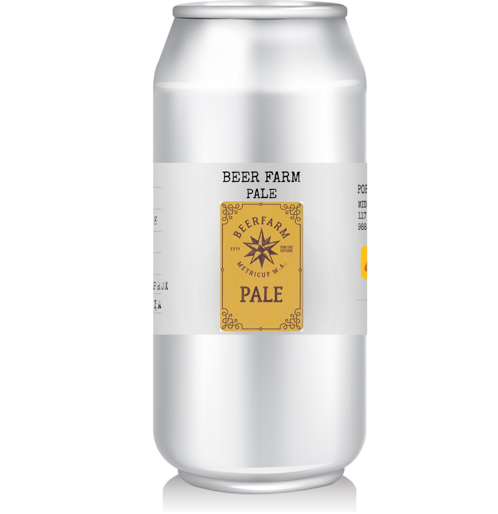 Beer Farm - Pale Ale LIMITED RELEASE   Loaded with deliciously fragrant El Dorado and Fortnight hops on the cleanest and lightest malt base possible, this is a beer to infuse your soul with all that we love about hops!