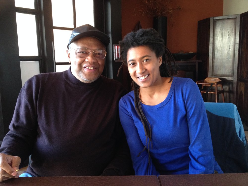 Abdul Wadud and Tomeka Reid in Cleveland, November, 2014