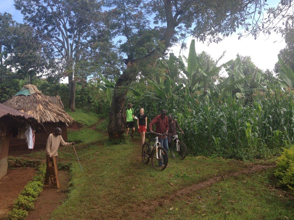 Sipi Falls village tour