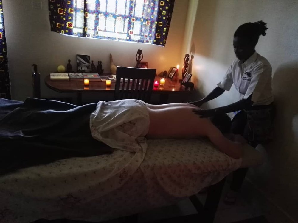 Eliza massage therapist Kapchorwa
