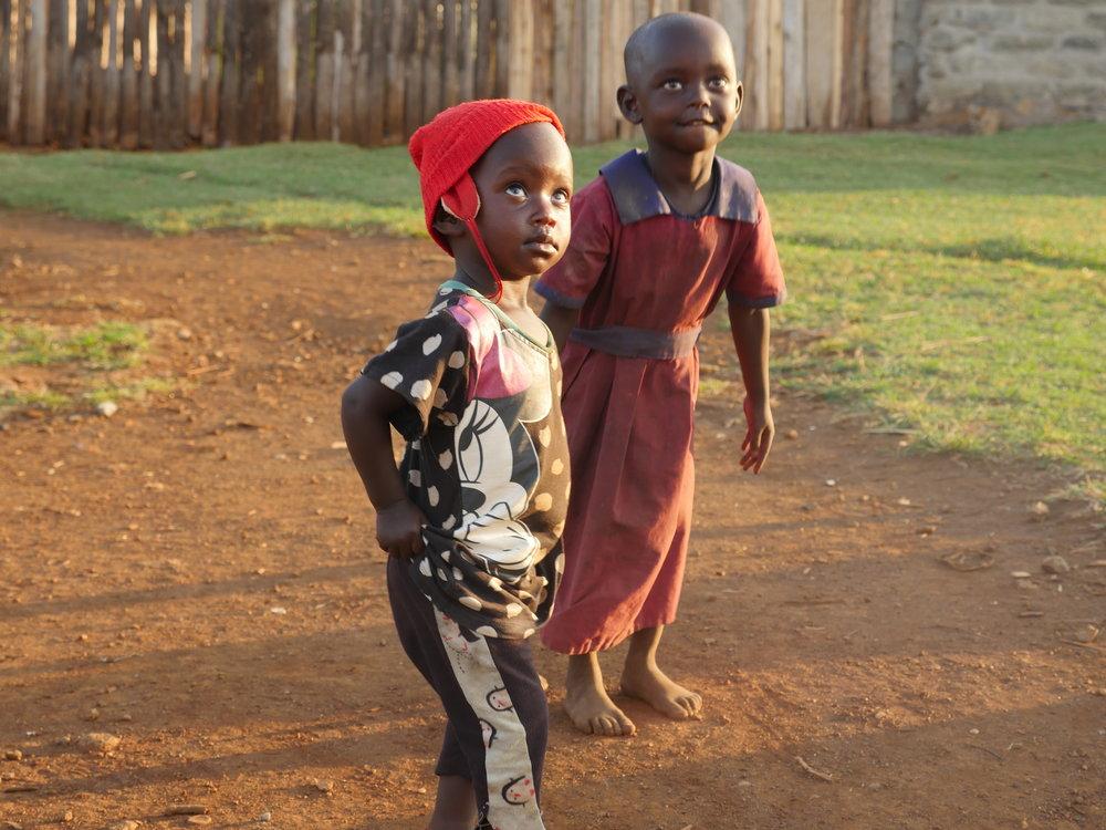 Children in Uganda Kapchorwa