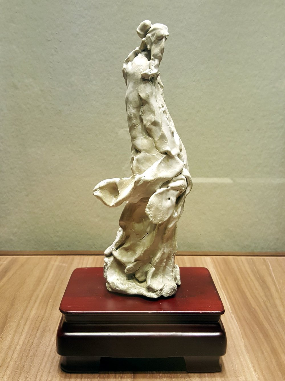 Semi-abstract Male Figures (Shiwan Pottery) by Pan Bolin    National Art Museum, Beijing