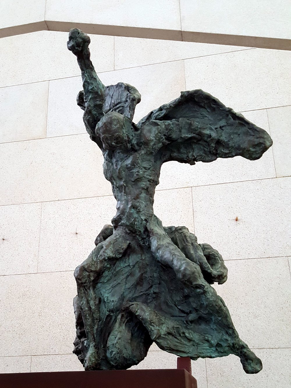 Figurative Bronze Statues by Salvador Dali    National Museum of China, Beijing