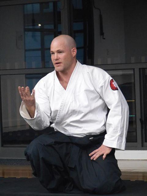 Aikido Sensei Paul
