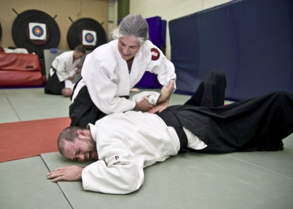 Joint locks aikido