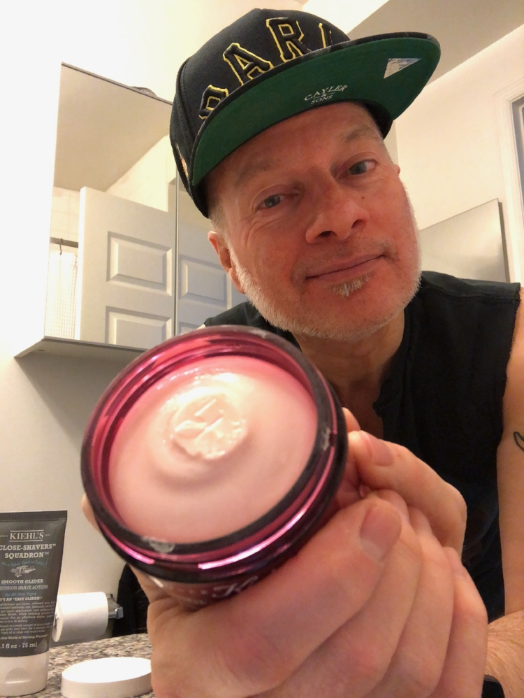 Kiehl's new Ginger Leaf & Hibiscus Firming Overnight Mask