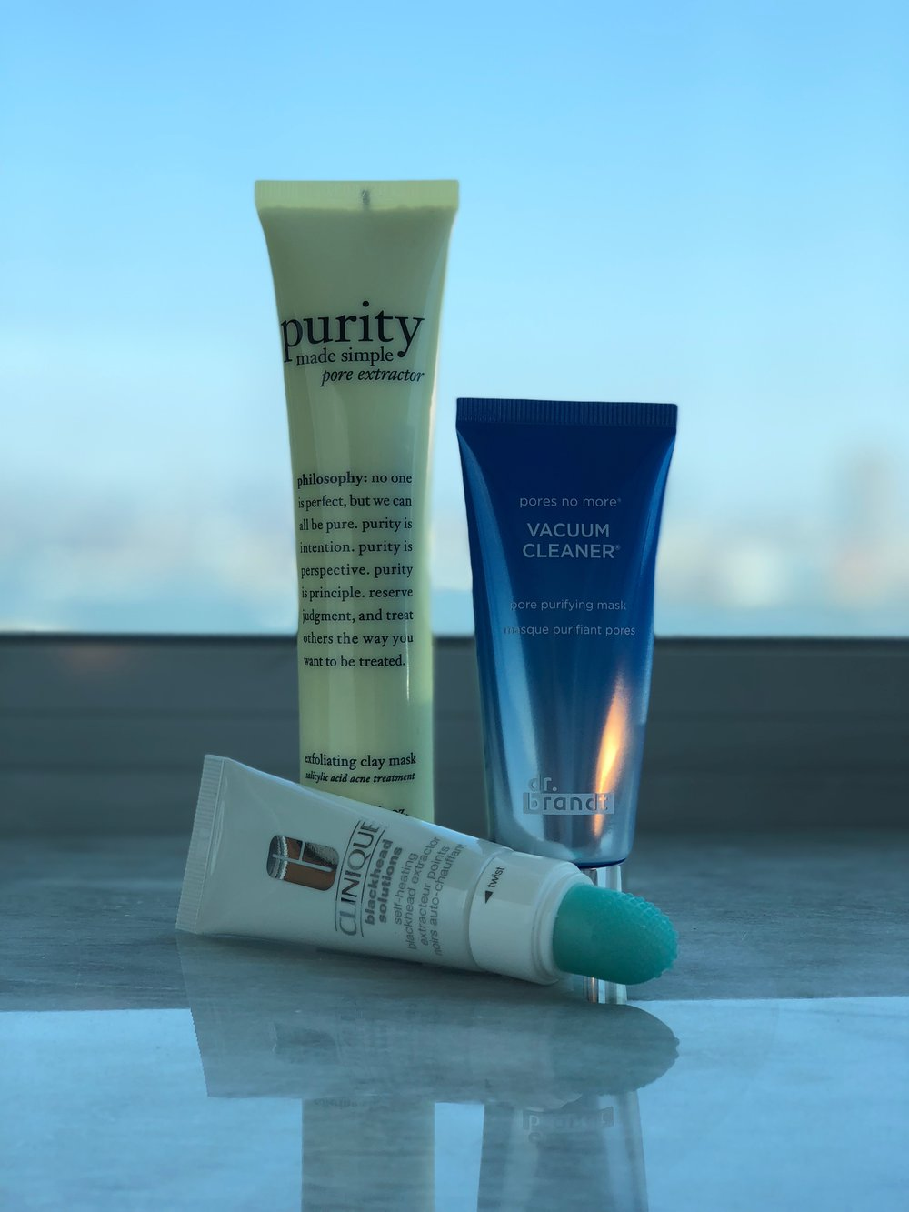 Three excellent pore-clearing treatments I've discovered on my journey to find my holy grail.