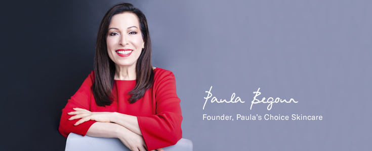 My idol, my muse — Paula Begoun taught me half of what I know about skincare ingredients.