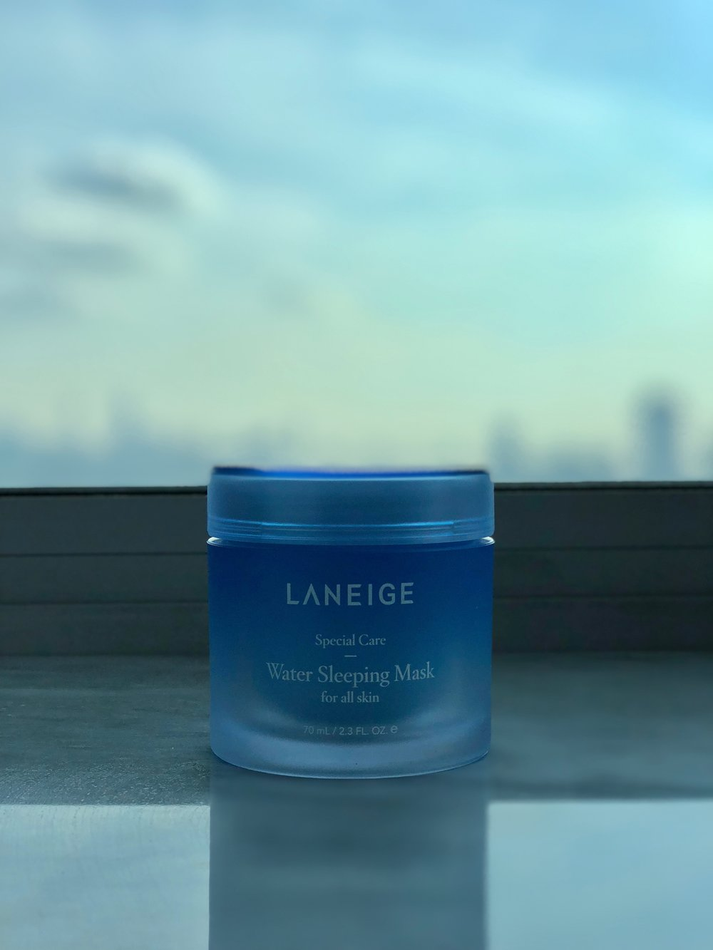 The LANEIGE Water Sleeping Mask is super light with a water texture perfect for oily skin.